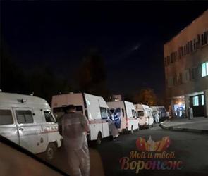 Воронежцы пожаловались на очередь из скорых у БСМП №1: врачи ответили