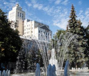 Воронежцам предложили выбрать последний день работы фонтанов
