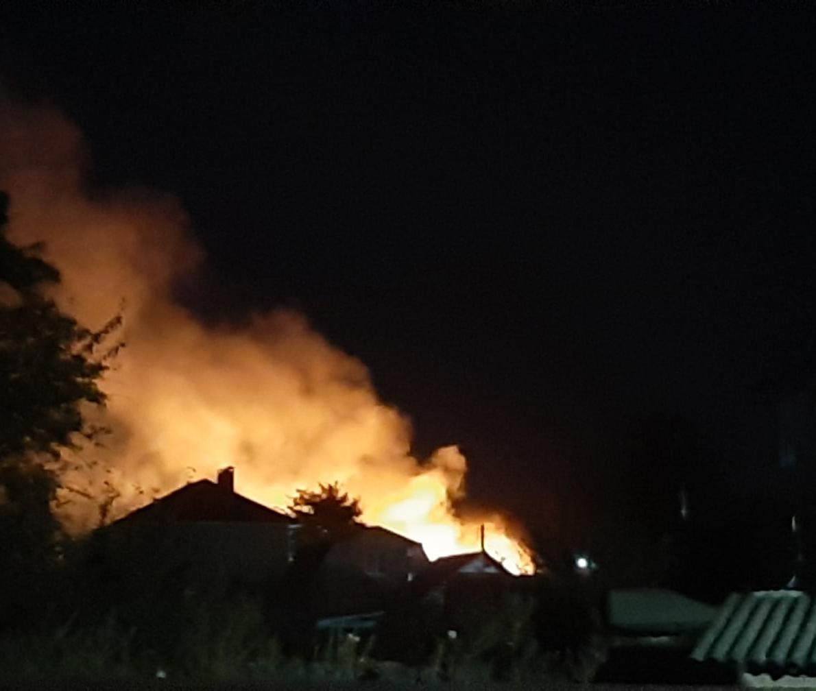 В Воронежской области снова горит село Бабяково