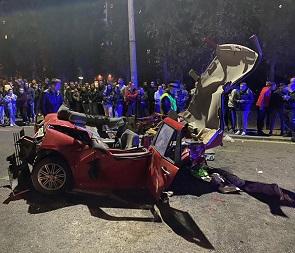 Опубликованы фото и подробности массового ДТП с погибшими в Северном районе