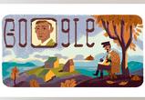 Google выпустил дудл к 150-летию воронежского писателя