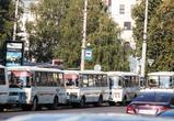 В Воронеже временно убрали оживленную остановку на Кольцовской