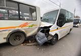 В ДТП с маршрутками в Воронеже пострадали 3 пассажира