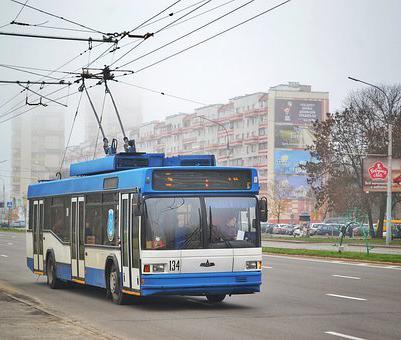 В Воронеже приостановили работу двух троллейбусных маршрутов