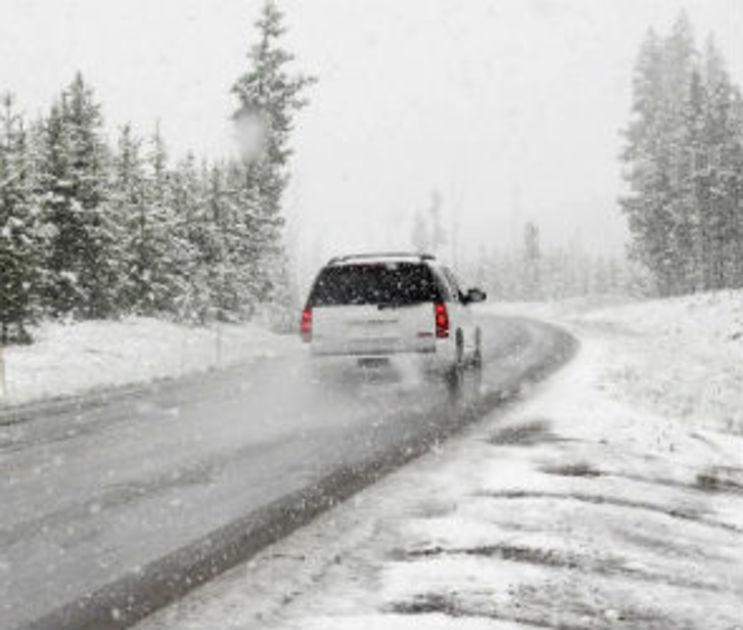 Из-за гололеда воронежских автомобилистов просят избегать резких маневров