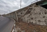 В мэрии прокомментировали возможное обрушение подпорной стены виадука у «Динамо»