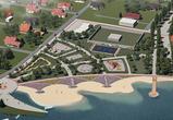 Воронежцам показали проект благоустройства набережной в Отрожке