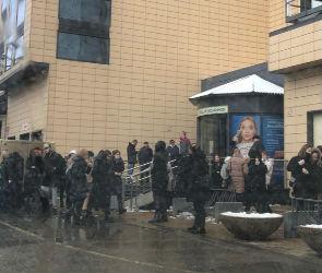 В Воронеже эвакуировали «Галерею Чижова»
