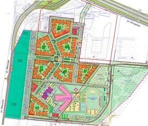 На Остужева в Воронеже появится новый жилой квартал
