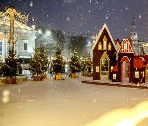 В Воронеже в новогоднюю ночь перекроют движение по площади Ленина