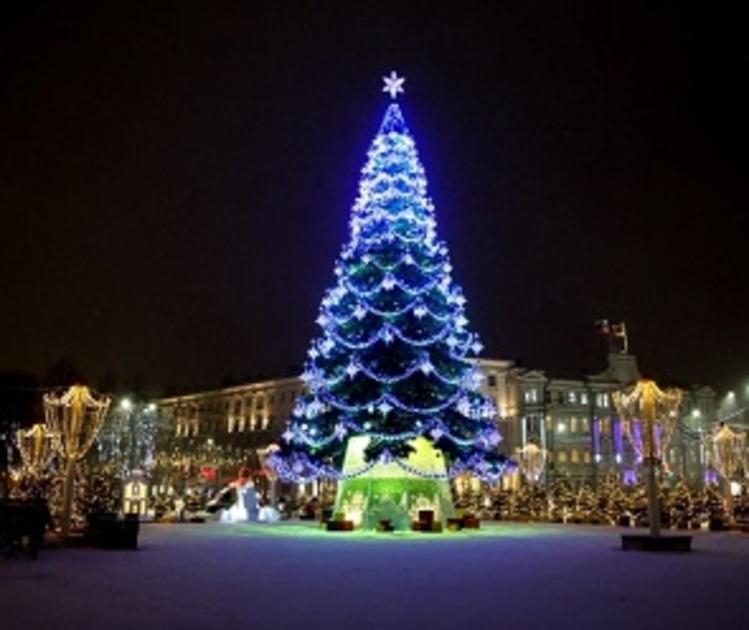 185 тысяч человек побывали на площади Ленина на новогодних праздниках