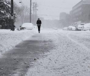 Синоптики: на Воронежскую область надвигается сильный снегопад