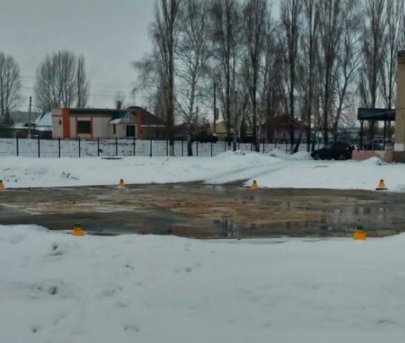 У районной больницы Воронежской области появилась вертолетная площадка