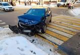 В Воронеже иномарка столкнулась с машиной скорой помощи