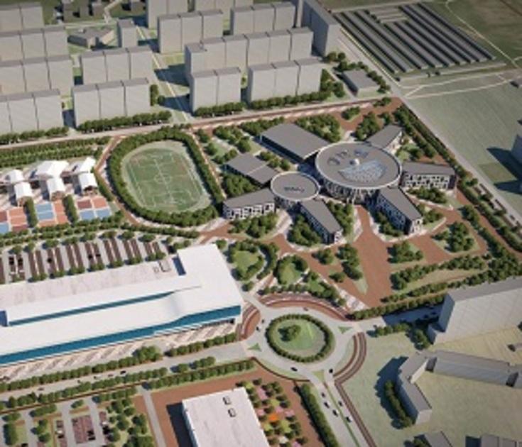Крупнейшая школа России появится на месте яблоневых садов в Воронеже в 2022 году