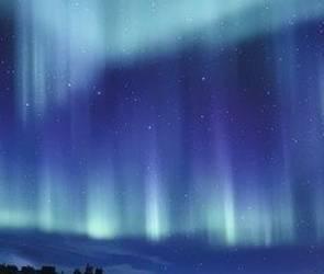 В крещенскую ночь в небе над городом воронежцы заметили «северное сияние»