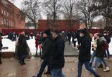 В Воронеже проходит несанкционированный митинг в поддержку Навального