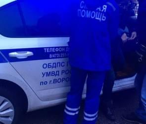 В Воронеже с разницей в несколько минут из-за гололеда пострадали 2 женщины