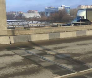 Воронежцы сообщили о разрушающихся деформационных швах на Северном мосту