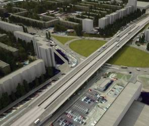 При строительстве Остужевской развязки движение перекроют на минимальный срок