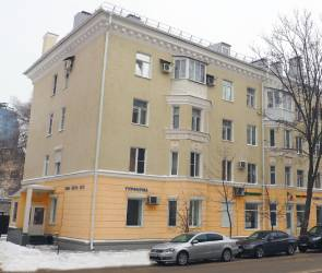 В Воронеже отремонтировали оказавшийся на грани разрушения дом на Театральной