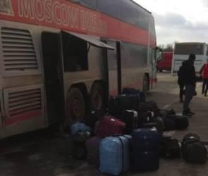 Под Воронежем в сильный мороз сломался междугородний автобус