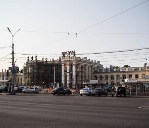 Возле вокзала «Воронеж-1» перекроют движение