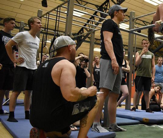 В Воронеже откроется мужской гимнастический центр