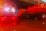 В Воронеже перекрыли движение под путепроводом на Московском проспекте