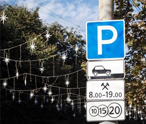 В Воронеже для борьбы с хамской парковкой на газонах установят камеры