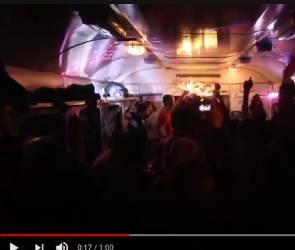 Воронежцы устроили 3-часовую техновечеринку с диджеями в электричке