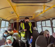 В Воронеже усилили контроль за соблюдением масочного режима в маршрутках