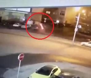 «Пьяное» ДТП, в котором погиб пешеход и пострадала беременная, попало на видео