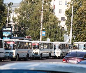 С понедельника в Воронеже изменится схема движения двух маршрутов