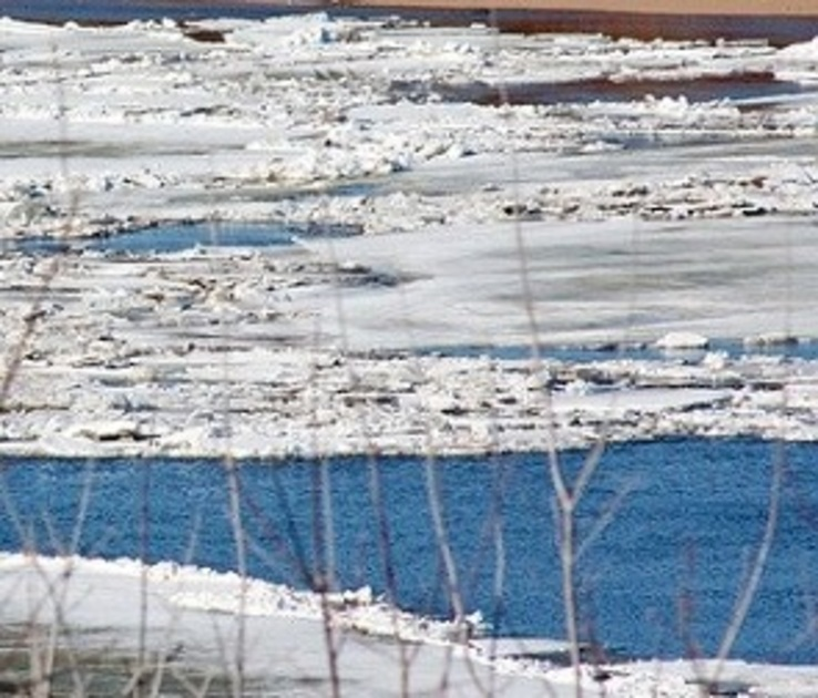 Из-за половодья в Воронежской области закрыли две понтонные переправы