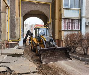 В Воронеже в рамках нацпроекта началось благоустройство дворов