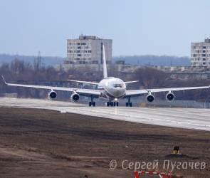 В Воронеже ожидают первый полет нового президентского самолета