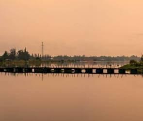 В Воронеже восстановили движение по понтонному мосту между Шилово и Гремячье