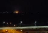 Горожан напугали красные вспышки в небе над Воронежем – видео