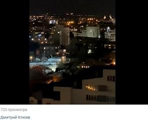 Напугавшие воронежцев взрывы попали на видео