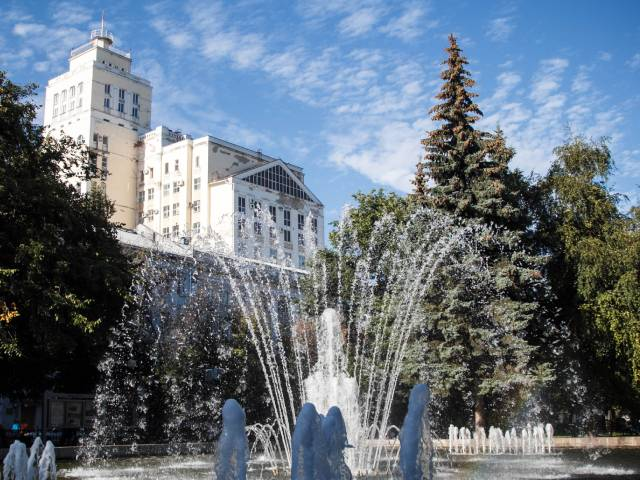 Фонтаны в Воронеже заработают с 1 мая