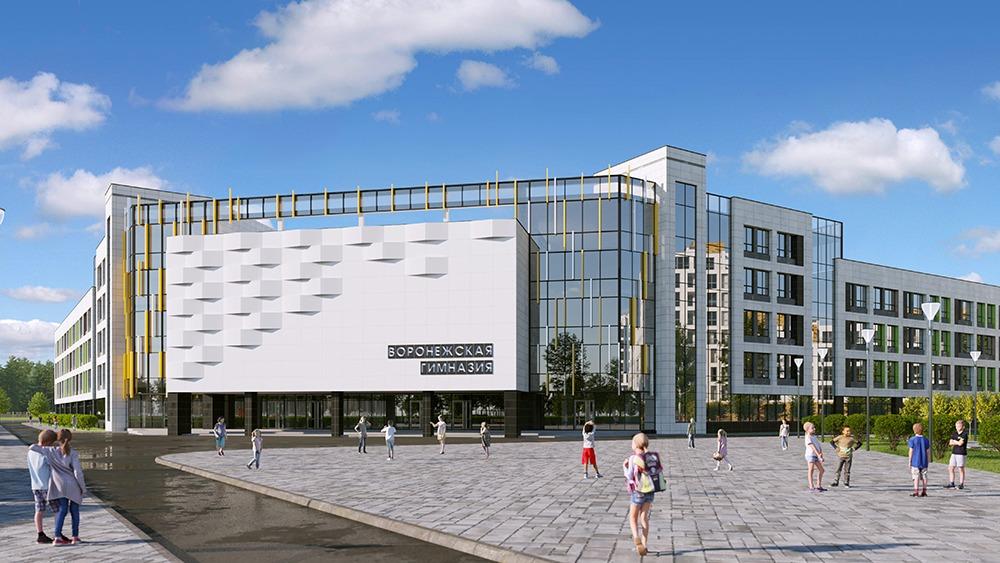 Долгожданная школа в микрорайоне «Процессор» в Воронеже откроется в 2023 году