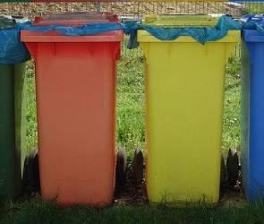 В Воронеже начали ржаветь новые урны для раздельного сбора мусора