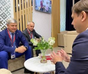 Воронежская и Орловская области договорились о сотрудничестве