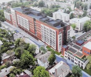 Строительство нового корпуса онкодиспансера завершат в Воронеже в августе 2023