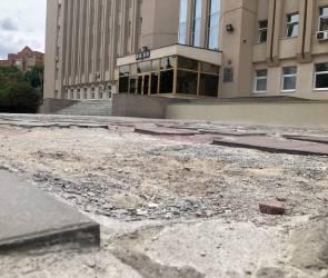 В Воронеже на благоустройство сквера перед облдумой потратят до 37 млн рублей