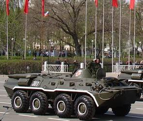 На дорогах Воронежа появятся колонны из боевых танков и БТР
