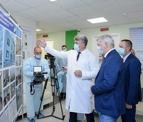 В Воронеже открылось первое радиотерапевтическое отделение онкодиспансера