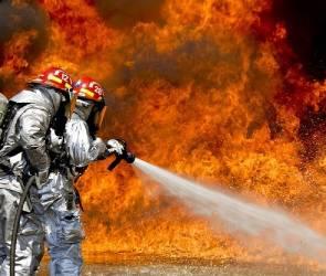 В Воронежской области сгорел склад на заводе растительных масел