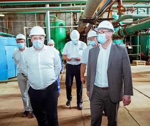 Мэр высоко оценил модернизацию теплоэнергетического хозяйства в рамках концессии